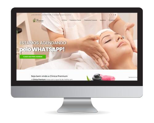 Clinica Premium – site