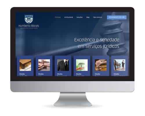 Humberto Morais Advogados - Site