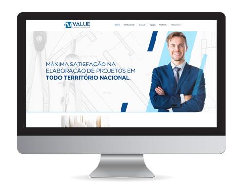 Value Projetos – site